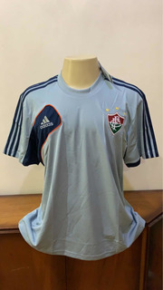 Camisa Fluminense Cinza Treino adidas 2010 Tamanho Gg