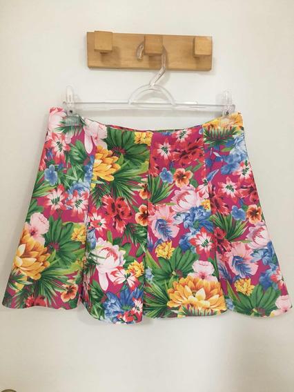 Saia Floral Da Zara