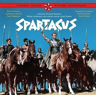 Spartacus + 4 Bonus Tracks (original Soundtrack) [import]