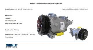 Compresor Peugeot 206 207 Citroen C3 Mahle