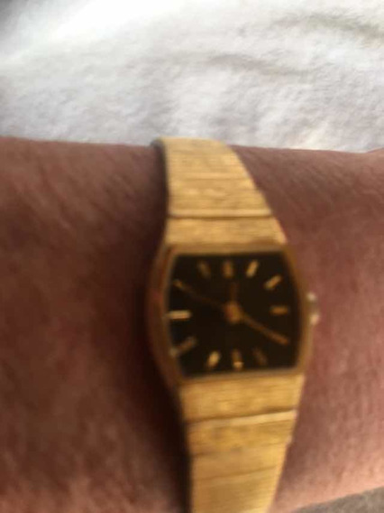 Relógio Orient Banho De Ouro