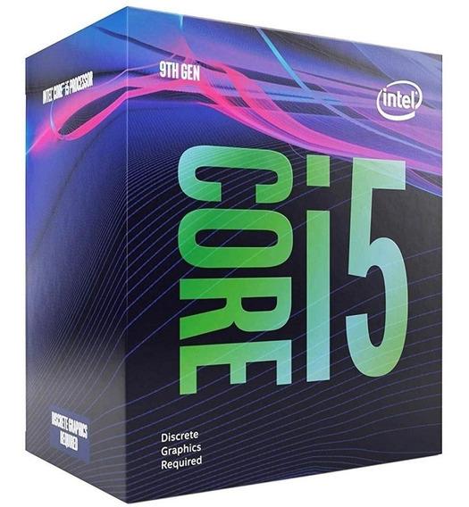 Kit Processador Intel I5 9400f Placa Mãe B360m Memória 2x4gb