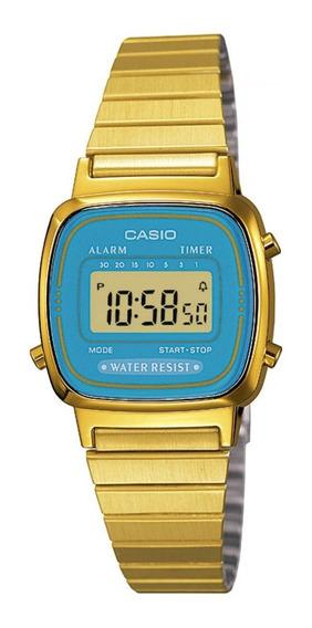 Relógio Casio Feminino Digital La670wga-2df