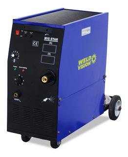Máquina De Solda Mig Star 250a Monofásica 220v - Weld Vision
