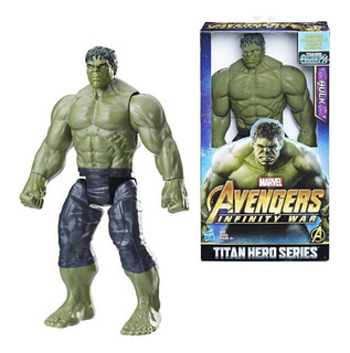 Muñeco Avengers Marvel Hulk 30cm Original Hasbro E0571
