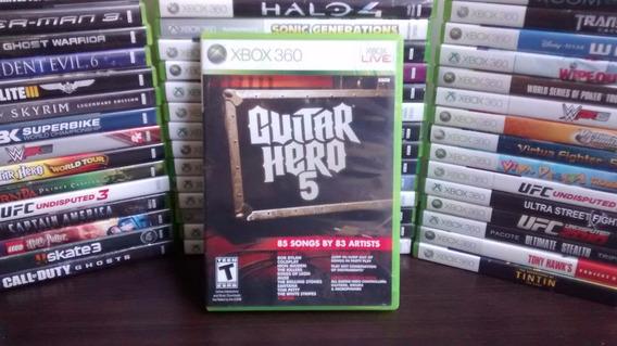 Guitar Hero 5 - Xbox 360 - Original - Mídia Física