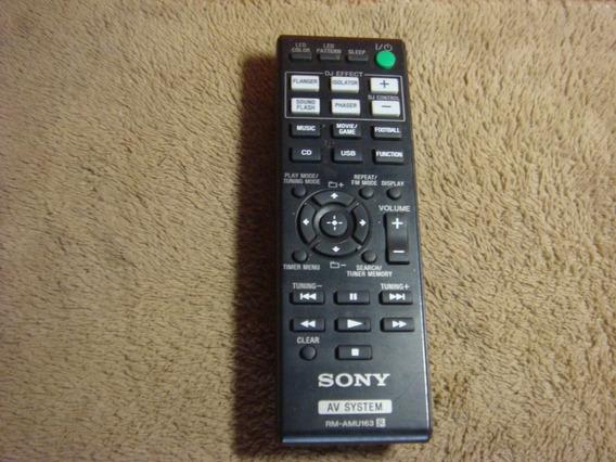 Controle Remoto Original Sony Modelo Rm- Amu 163