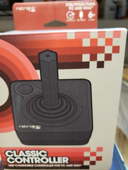 Joystick Atari Clássico Controler Usb