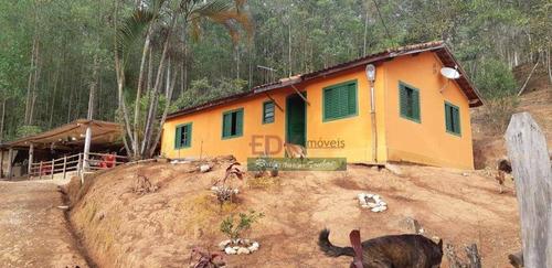 Imagem 1 de 7 de Chácara Com 3 Dormitórios À Venda, 30000 M² Por R$ 300.000,00 - Santa Terezinha - São Luiz Do Paraitinga/sp - Ch0285