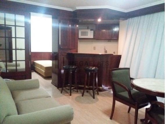 05844 - Flat 1 Dorm. (1 Suíte), Higienópolis - São Paulo/sp - 5844