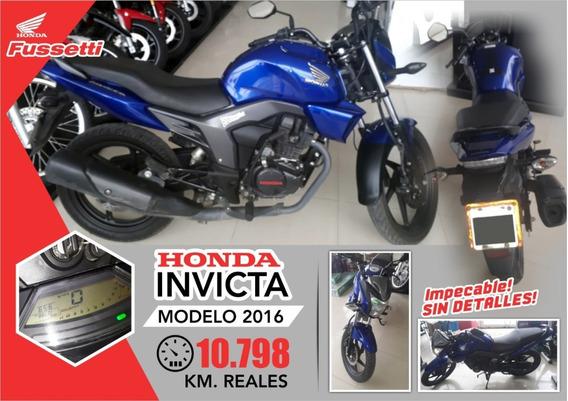 Honda Invicta Mod 2016 / Usada - Consultar Precio