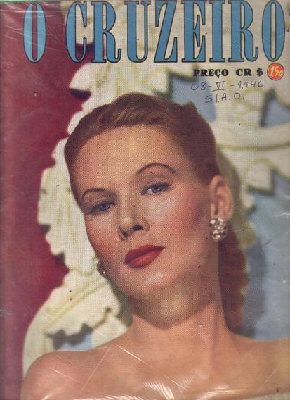 O Cruzeiro 1946.dom Jayme Camara.hotel Saõ Paulo.jockey.moda