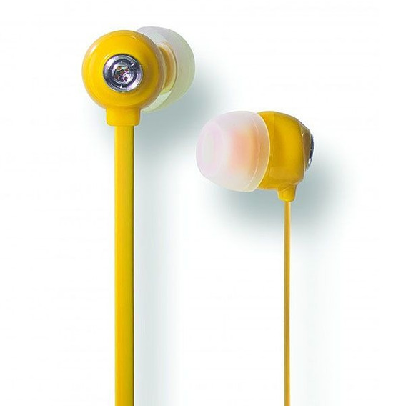 Fone De Ouvido In-ear Youts - Candy Colors Amarelo
