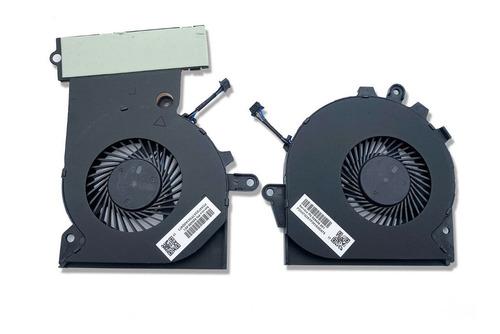 Pack Ventilador Hp Omen 15-ce (cpu + Gpu)