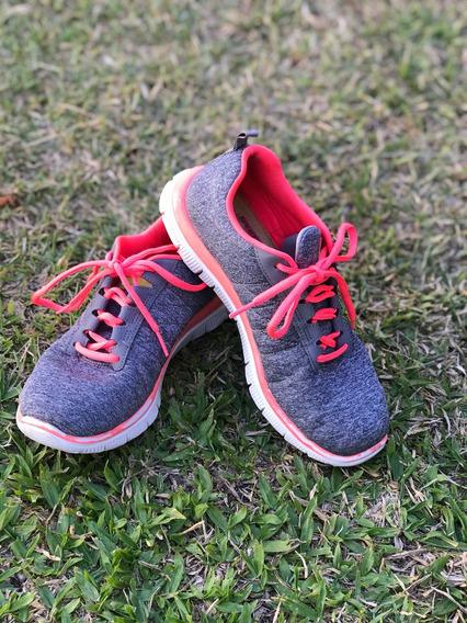 Zapatillas Skechers Flex Appeal 2.0 Mujer Memory Foam Flex
