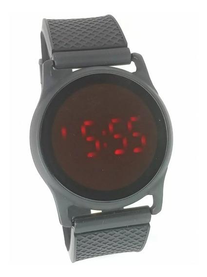 Relógio Unissex Led Touch Screnn Redondo Estilo Smart Whatch