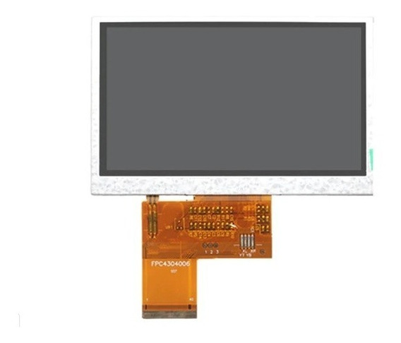 Display Tela Lcd 4,3 Finder Ws Satlink 6960 Original