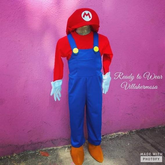 Vestuario Mario Bros