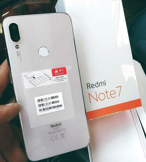 Celular Xiaomi Redmi Note 7 Branco White 64gb 4gb R
