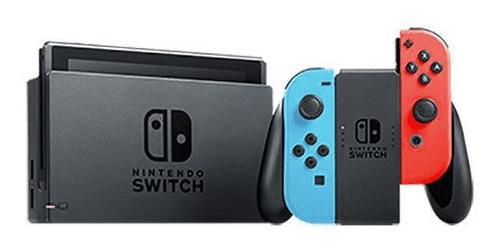 Nintendo Switch + 2 Juegos Fisicos + Estuche Mario Odyssey