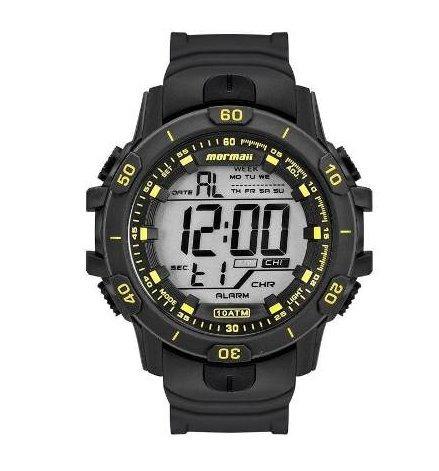 Relógio Mormaii Digital Sport Cronágrafo Mo3690aa/8y Preto