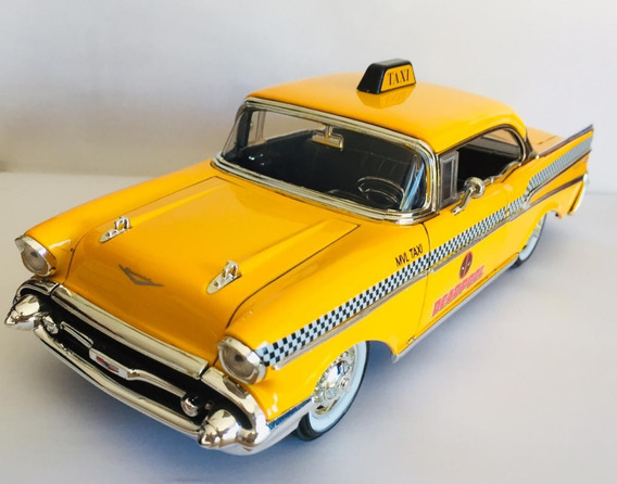 Miniatura Táxi Chevy Bel Air 1957 Do Deadpool 1:24