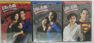 Luisa Y Clark Las Nuevas Av De Superman T2 T3 Y T4 Dvd