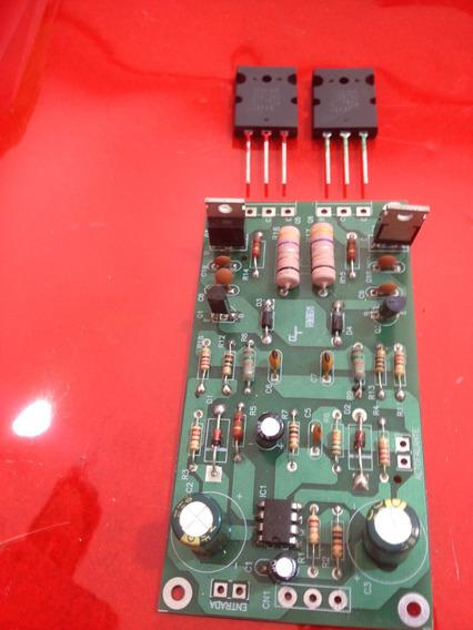 Kit Para Montar Amplificador 150w Com 2sc5200/2sa1943