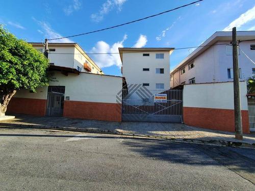 Apartamento Com 2 Dormitórios Para Alugar, 60 M² Por R$ 850,00/mês - Jardim Saira - Sorocaba/sp - Ap1264