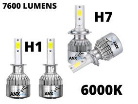 Kit Xenon Led H7 + H1 6000k 7800 Lumens 12v Promoçao