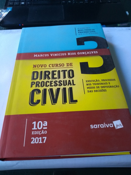 Livro Novo Curso De Direito Processual Civil