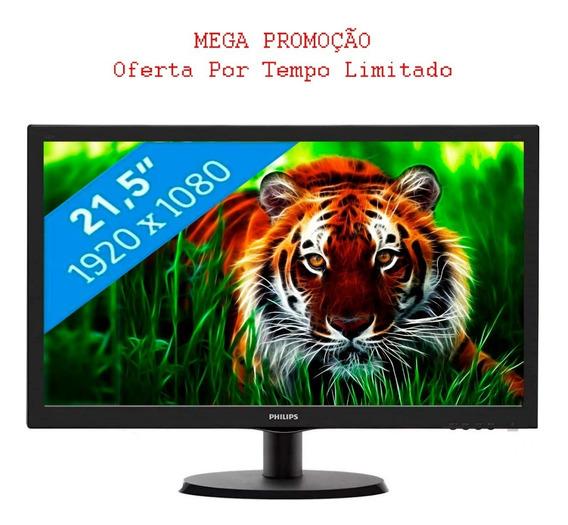 Monitor Led 21,5 Philips 1920x1080 Full Wide Hdmi / Vga Vesa