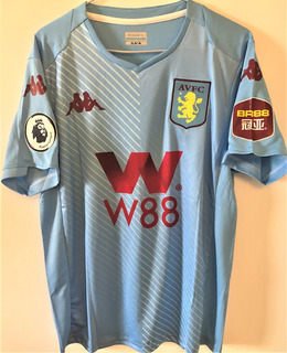 Camisa Aston Villa 2019/20 Grealish #10 Premier League