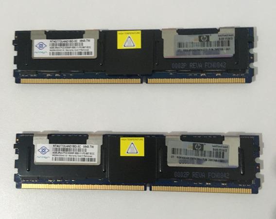 Kit Memória Ddr2 Ecc Nanya 8gb (2x4gb) Nt4gt72u4nd1bd-3c