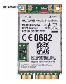 Placa Conector 3g Huawei Em770w Positivo Ypy-tb07sta (9780)