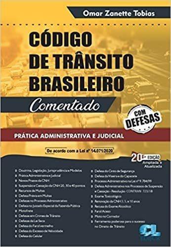 Imagem 1 de 2 de Livro Código De Trânsito Brasileiro Comentado 2021