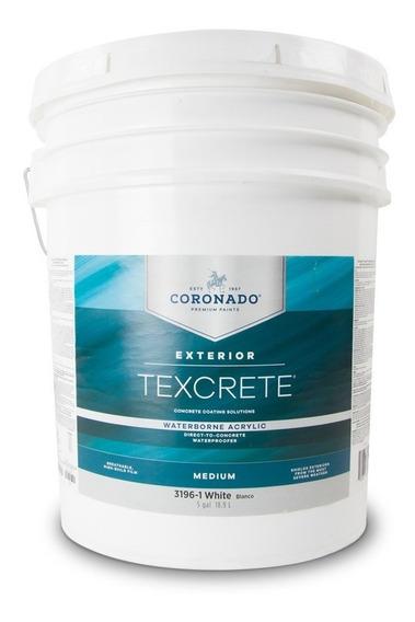 Texcrete® Acrylic Masonry Waterproofer Medium/ Galón /blanco