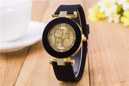 Lindo Relógio Feminino Carolina Herrera Ch Hc