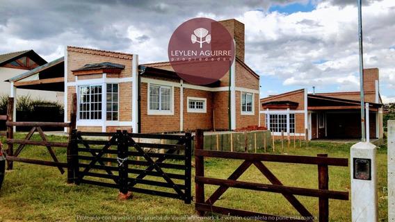 Casa Nueva De Dos Dormitorios En Santa Cruz Del Lago