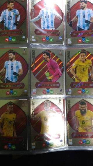 Coleção Completo 94 Cards Limiteds Copa 2018 Panini