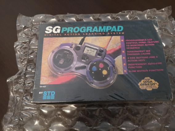 Controle Programável Mega Drive Sg Programpad Novo Lacrado