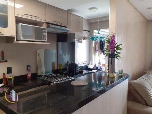 Imagem 1 de 19 de Apartamento Com 3 Dormitórios À Venda, 58 M² Por R$ 320.000,00 - Novo Osasco - Osasco/sp - Ap1741