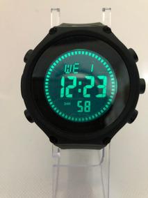 Reloj Nike Digital Sport, Crono,hora Fecha, Luz Verde Milita