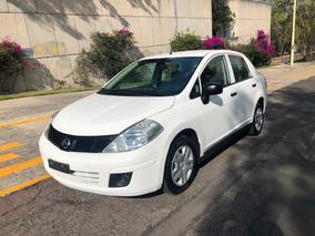 Nissan Tiida 2016 Drive Sedan Estandar Clima Cd Seminuevo!!
