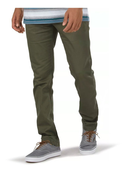 Pantalon Vans Authentic Chino Stretch Verde Militar