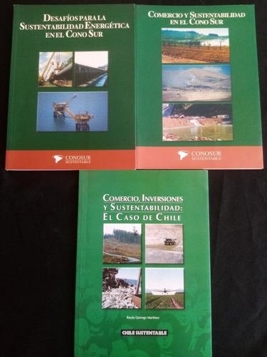 3 Libros Sobre Sustentabilidad. Cono Sur Y Caso De Chile