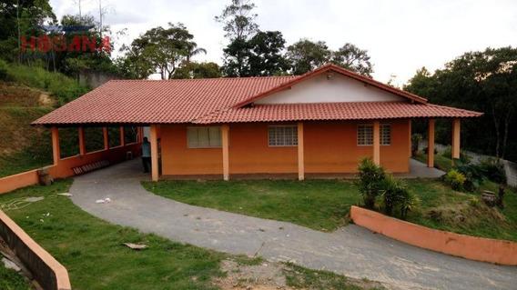 Chácara Com 3 Dormitórios À Venda, 2800 M² Por R$ 450.000 - Chácaras Do Rosário - Franco Da Rocha/sp - Ch0035
