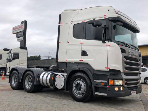 Scania R440 18/18 6x4 Com Retarder  No Cavalo=fh,fmx,vm,vw