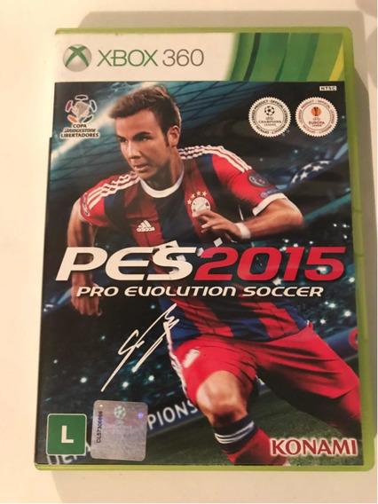 Pes 2015 Mídia Física Xbox 360