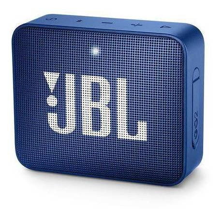 Caixa De Som Jbl Go 2 Portátil Sem Fio Midnight Azul